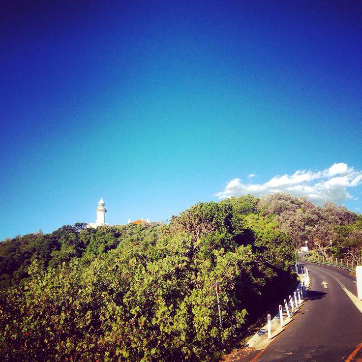 Byron Bay lighthouse. Instagram: byronbayyogi