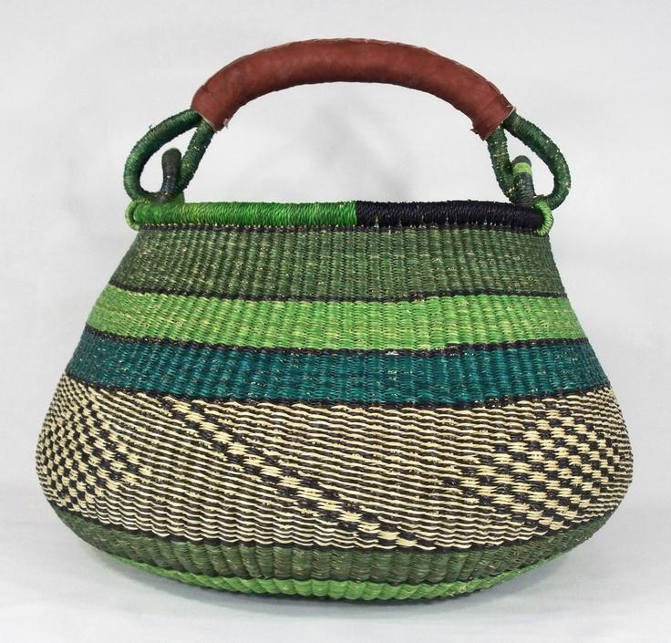 African Basket made in Ghana