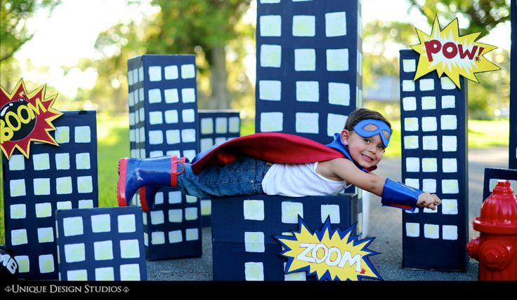 Super hero  Children Photography