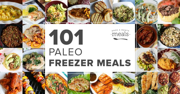 Simplify your Paleo diet by stocking the freezer with Paleo Freezer Meals! Here are 101 - choose a few and make your own custom meal plan.