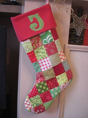 Christmas stocking @Eleanor Yglesias  Yay or Nay on the style?