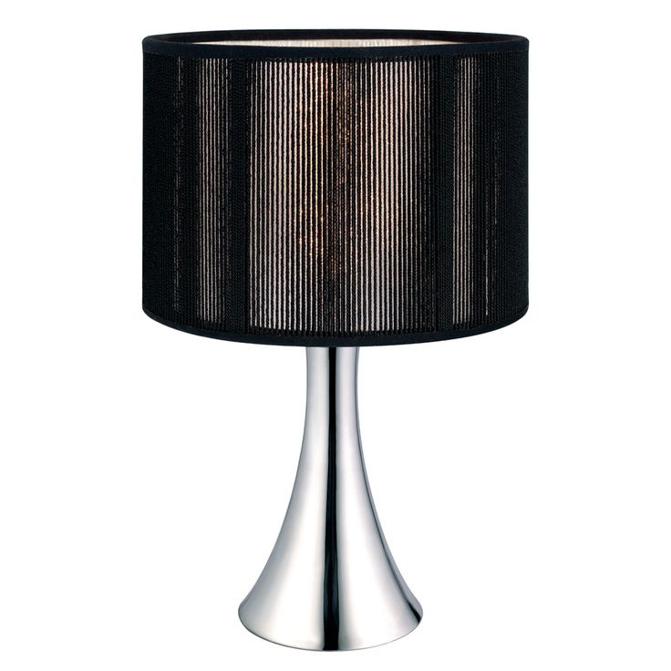 Eglo Lighting 20104A Fabienne Collection Modern Living 1 X 60W Table Lamp  Shown In Chrome