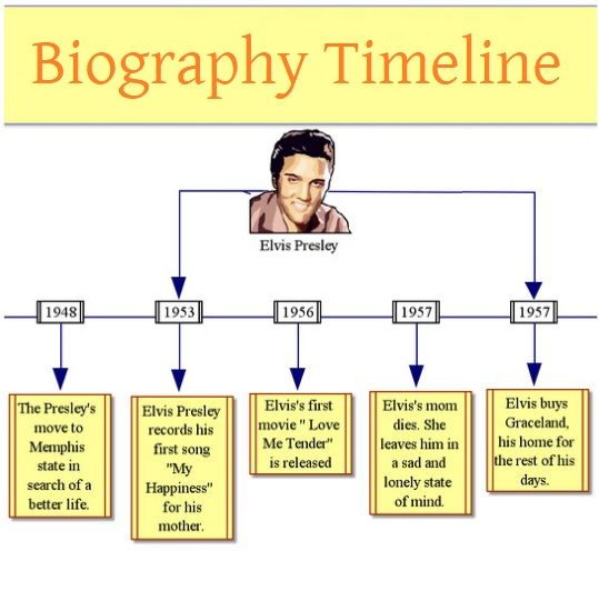 graphic regarding Printable Timeline Pdf titled 4+ Biography Timeline Templates Totally free Printable PDF, Excel