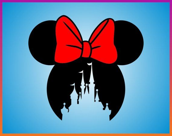 Pin By Kim Messer On Manualidades Disney Silhouette Minnie Mouse Minnie