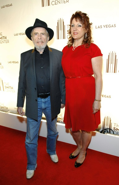 Merle Haggard Wife | Merle Haggard Recording artist Merle Haggard and wife Theresa Ann Lane ...