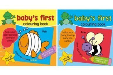 Baby's First Colouring Book: Amazon.co.uk: Toys & Games