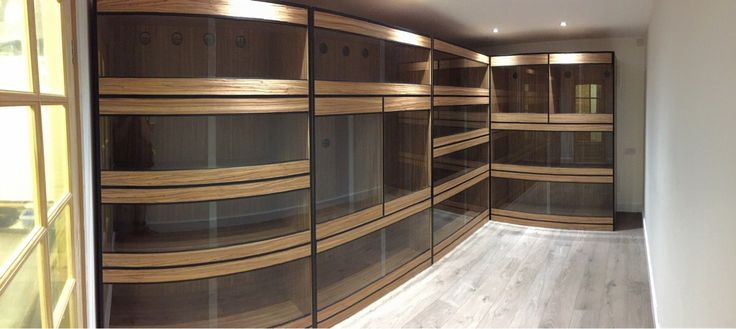 Gorgeous reptile room built by TooManyBeavers on Reddit. >>> GOALS! *drooling*