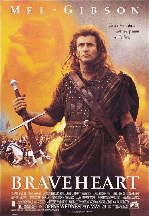 Director: Mel Gibson | Reparto: Mel Gibson, Sophie Marceau, Patrick McGoohan, ... | Género: Aventuras | Sinopsis: En el siglo XIV, los escoceses viven oprimidos por los gravosos tributos y las injustas leyes impuestas por los ingleses. William Wallace es un joven escocés que regresa a su tierra despues de muchos años de ausencia. Siendo un niño, toda su familia fue asesinada por ...