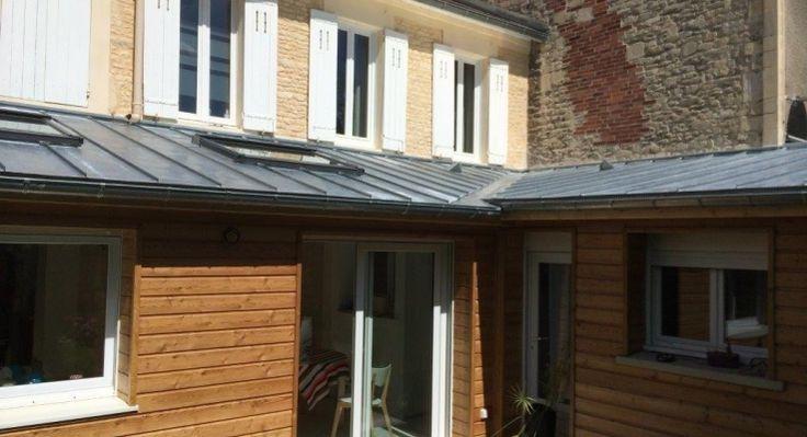 Toit Bac Acier Velux Extension Maison Garage Doors