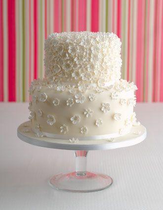 Maisie Fantaisie Wedding Cakes - Cascading Blossom Wedding Cake - London Wedding Cakes