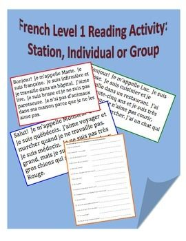 This activity contains 6 paragraphs that the teacher posts around the room. Students are given a set of questions whose answers can be found in each of the paragraphs. Students move around individually or in pairs to each paragraph and record the answers.