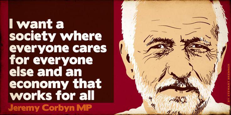 Jeremy Corbyn: prospective Labour leader