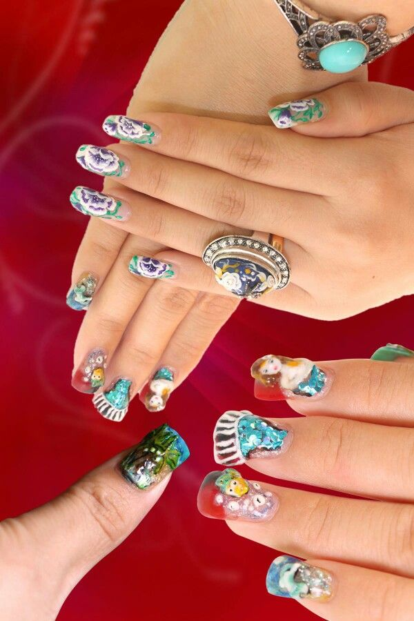 3d nail art.