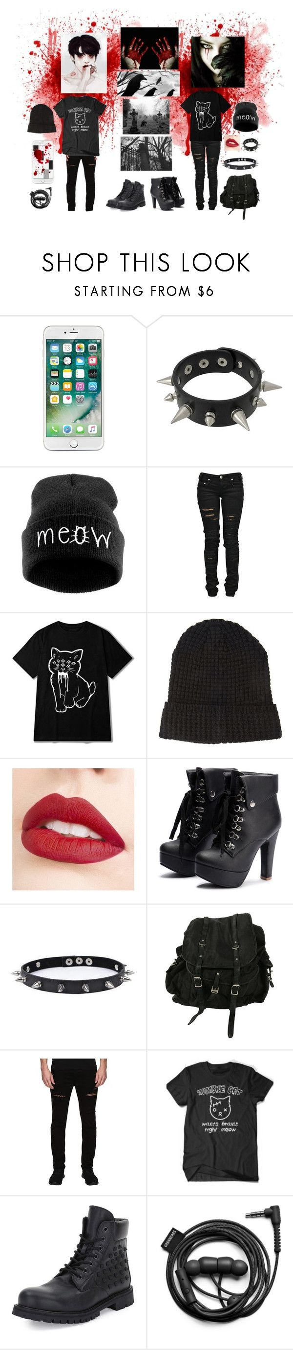 """""""Vampire Style With Jungkook"""" by yoonmin2725 ❤ liked on Polyvore featuring Morgan, WithChic, Denim of Virtue, 21 Men, Jouer, Trend Cool, AllSaints, Rustic Dime, Valentino and Forever 21"""