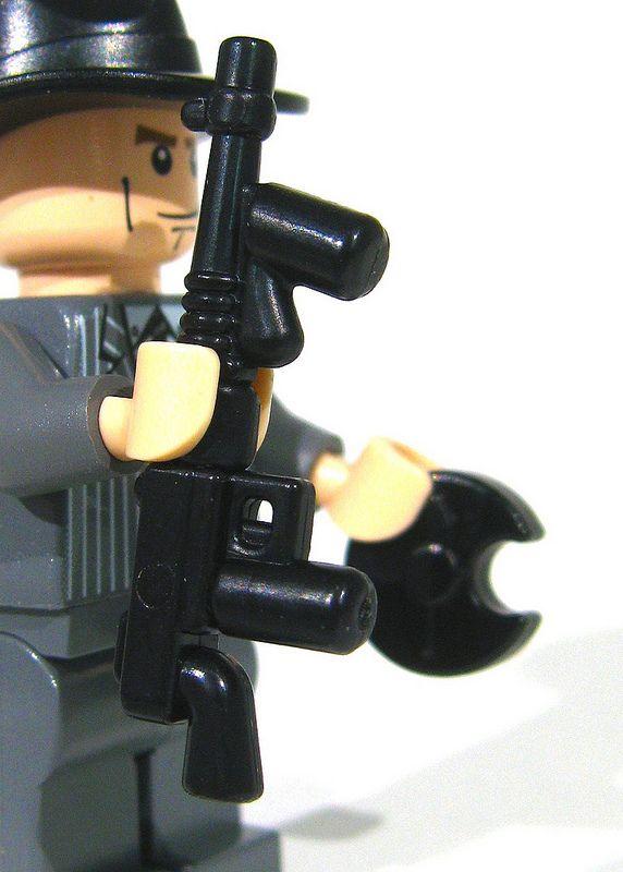how to make a lego machine gun for minifigs