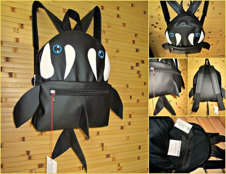 #backbag #shark_shaped #kuzyo #bags #design #trendy #fashion #photo