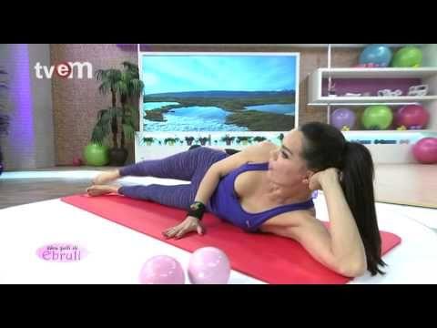 Ebru Şallı İle Pilates Egzersizleri 25.Bölüm - YouTube