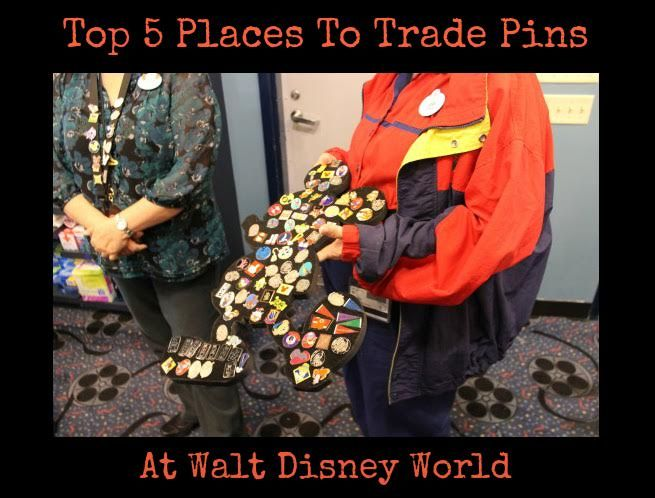 Do you love trading pins? To make your pin trading experience successful, here are the top 5 places to trade pins at Walt Disney World...