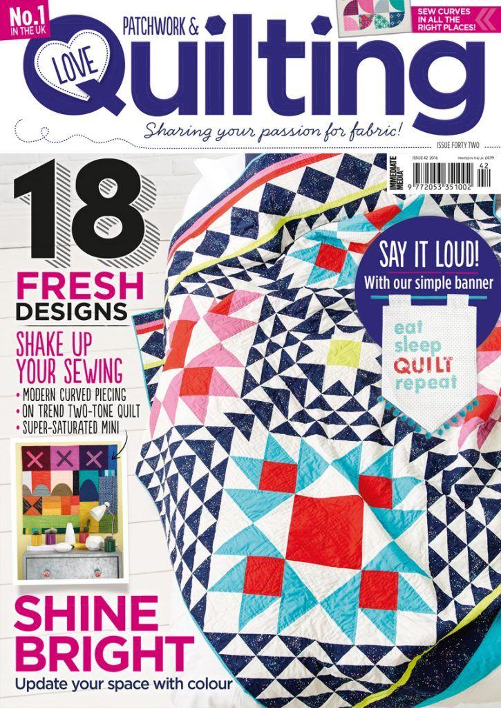 273 best Love Patchwork & Quilting magazine images on Pinterest ... : quilting today magazine - Adamdwight.com