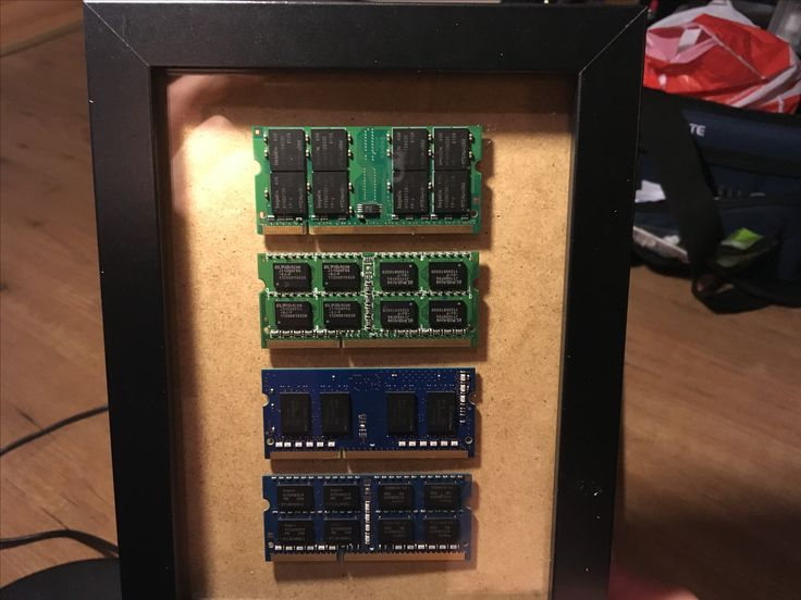 DDR3 RAM pictureframe