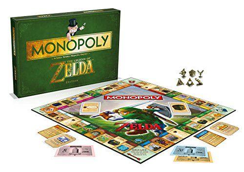Winning Moves – 0967 – Monopoly Zelda – Version Française: Descriptif produit: Monopoly Zelda - Version Française intégrale. Age minimum :…
