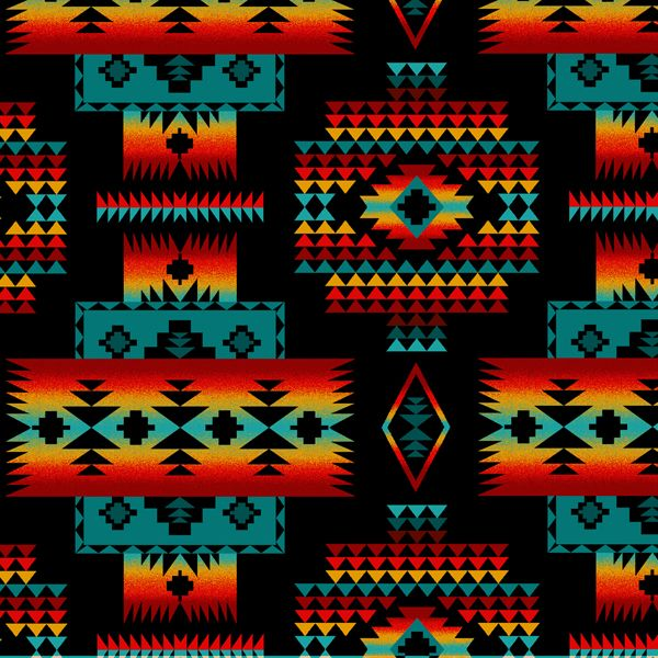 Native American Pattern Wallpaper