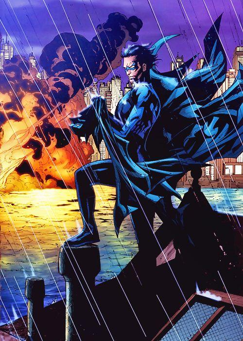 Nightwing in Batman RIP