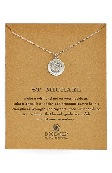 Dogeared St. Michael Pendant Necklace available at #Nordstrom