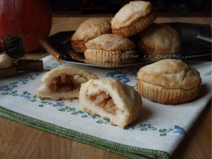 Biscotti sablè mele e cannella