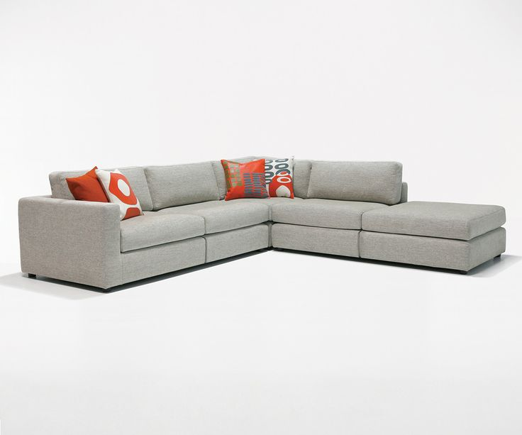 Dellarobbia Kelsey Sectional from Schreiteru0027s | Sofa ideas | Pinterest | Modern : kelsey sectional - Sectionals, Sofas & Couches