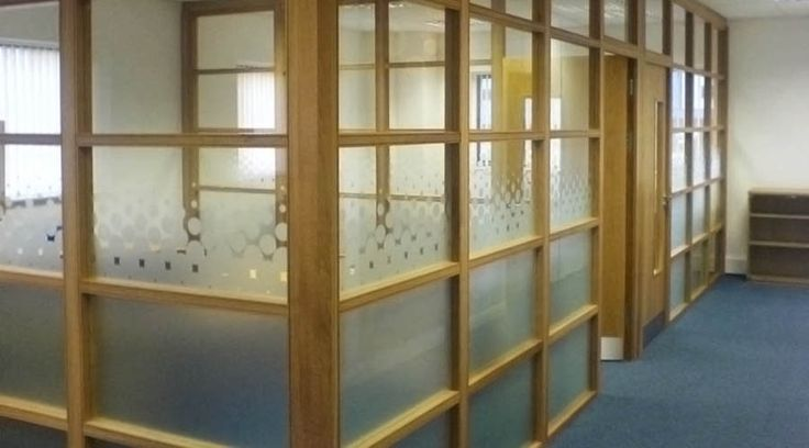 Custom made office glass frosting with solid lower panels and circle pattern to higher panels. & 43 best Glass Manifestation / Office Glass / Window Frosting images ...