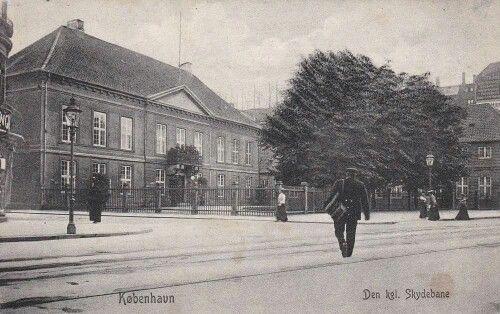 Absalonsgade - Vesterbrogade Den kongelige Skydebane i 1906