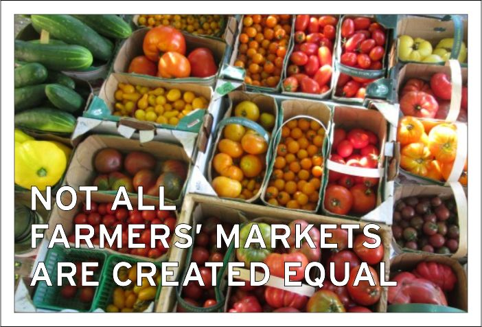 Shopping at the farmers' market is better for the environment, better for our local economy, and better for your wallet.
