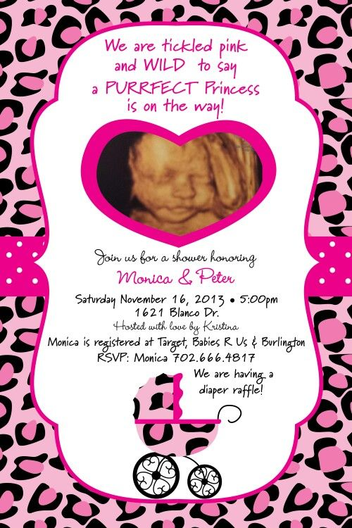 Cheetah Baby Shower Invitations is an amazing ideas you had to choose for invitation design