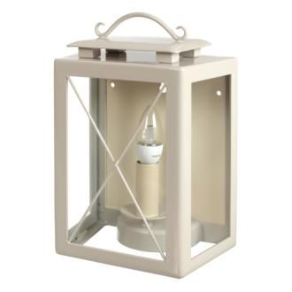 Give your home an instant fresh look with #modern, #country lighting: the popular hand-forged #outdoor Coach #Lantern, made by Jim Lawrence, is now available in our new #Clay paint finish.