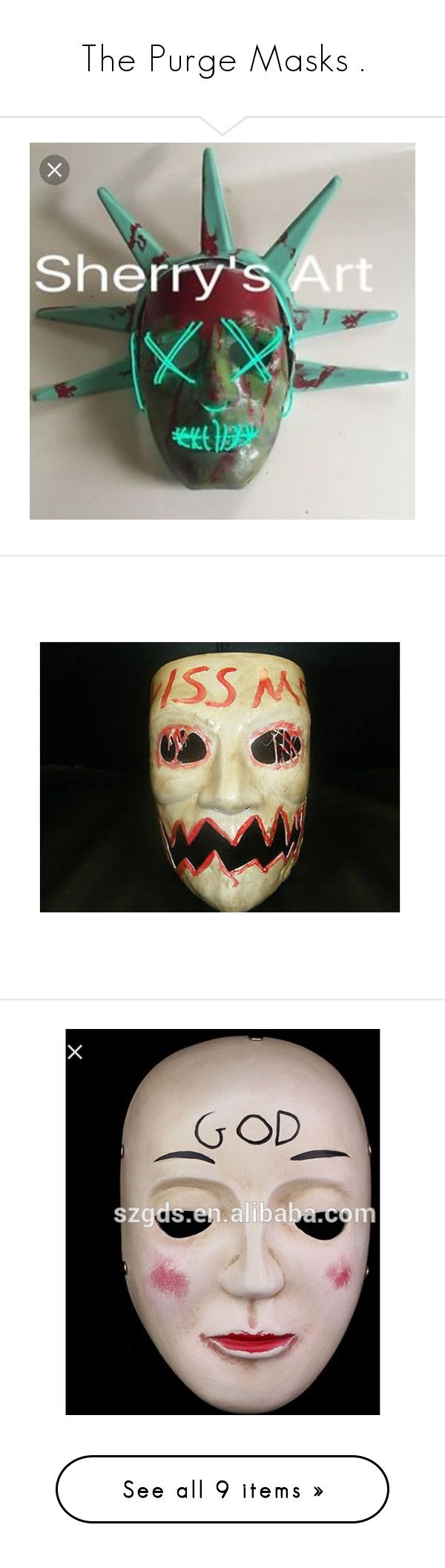 Best 25+ Purge mask ideas on Pinterest | College costumes, College ...