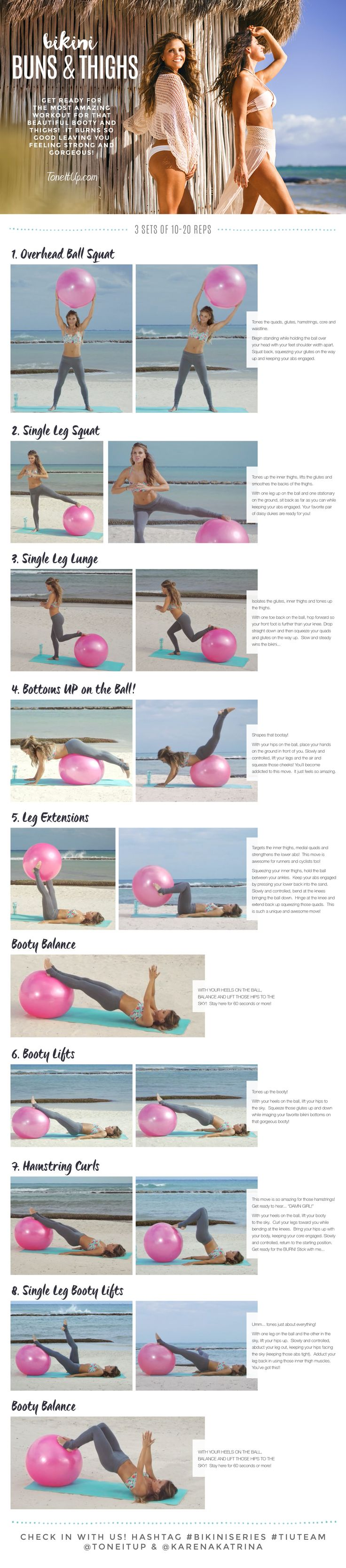 Stability ball workout!