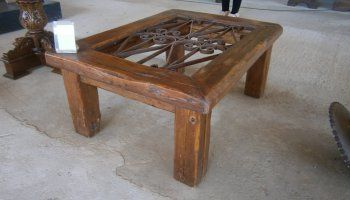 Vintage hand-crafted Coffee Table C003