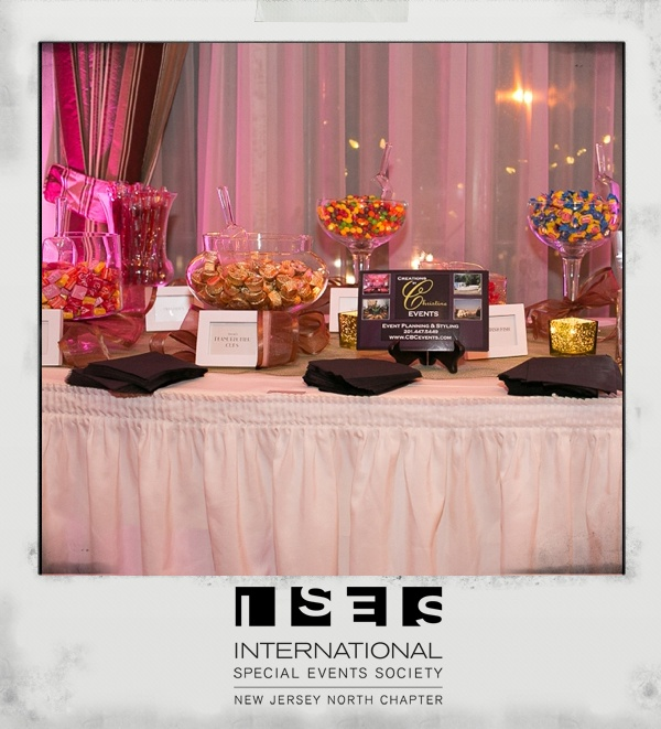 Delicious Candy Display by Creations By Christine Events, Lighting: BML Blackbird,  Venue: Ho Ho Kus Inn & Restaurant