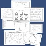Recursos para el aula: Fichas de infantil y primaria de figuras geométricas
