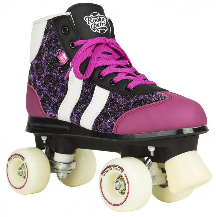 Roller Quad Rookie Retro V2 Purple Glitter