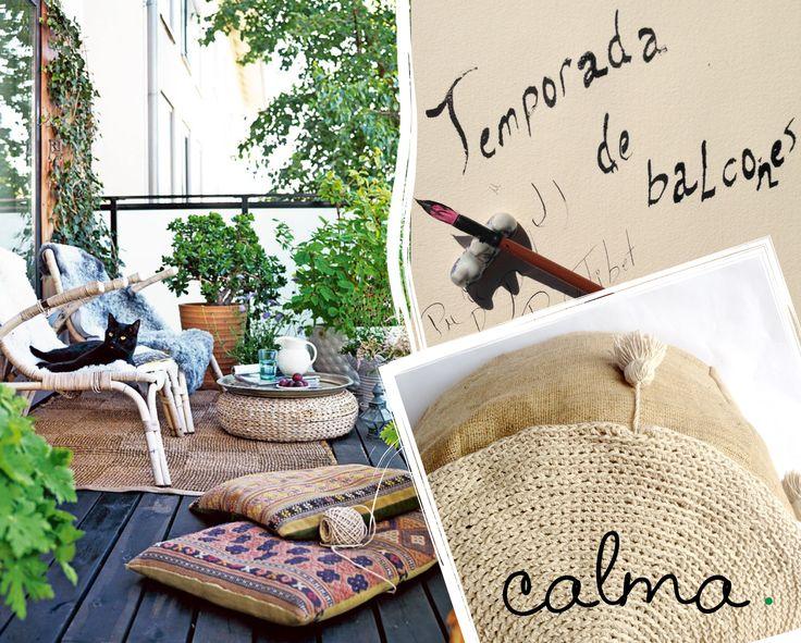 #Meriendas con un #PuffTibet tejido en el color que quieras! #Pantone #design #interiordesign #puff #crochet #tejidos. calma.mitiendanube.com