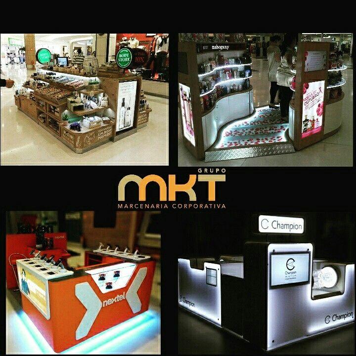O Grupo MKT Marcenaria Corporativa realiza o projeto, produção e instalação de seu Quiosque em todo o Brasil. Visite: www.mkt509.com.br Fale conosco: (11) 2951-7649 / 7644 ou contato@mkt509.com.br #quiosque #expositor #display #shopping #kiosk #loja #shop #varejo #retail #vitrine #enxovaldeloja #projetoarquitetonico #marcenaria #marcenariacorporativa #mobiliariotematico #mkt509 #led #acrílico