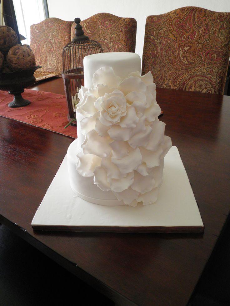 Rose Cake By Zaida Marcos