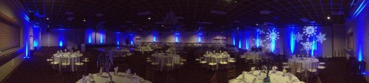 Up Lighting, Christmas Party, Fresno Ca, lighting, event