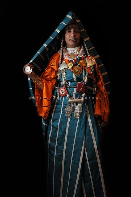 Africa   Libyan traditional clothes   ©khairy Mohamed shaban, via flickr