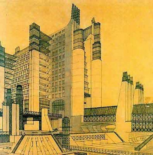 新都市 アントニオ・サンテリア 1913~14