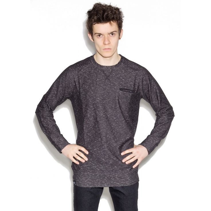The Hive - Grand Jumper - dark grey blouse for men