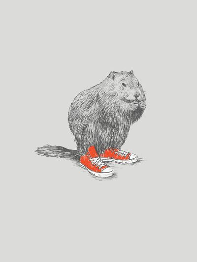 If beavers wore shoes...