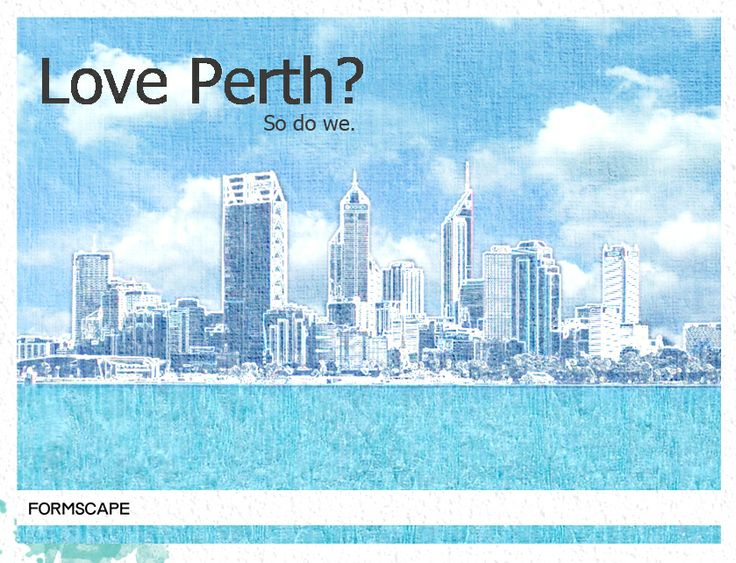 Perth is home; Find out about beautiful design, architecture and spaces with Formscape.. Come on a journey of discovery with us.
